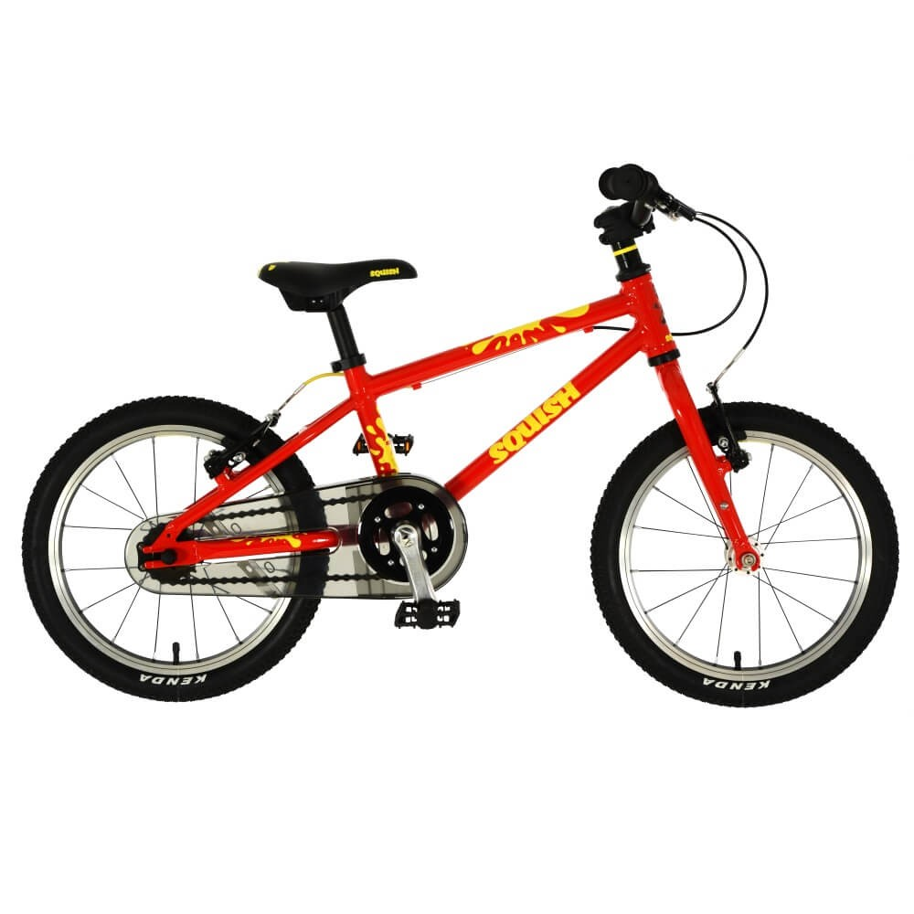 Squish 16 (RRP £260) with helmet and lock (RRP £75)