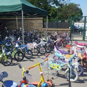 Clapham Manor Primary School - Bike Market