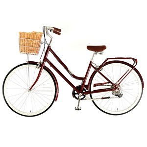 Dawes Duchess Deluxe Burgundy with lights and helmet